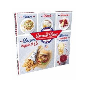 Coffret american diner plus de 100 recettes made in usa for Achat cuisine americaine