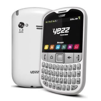 T l phone yezz f10 triple sim blanc t l phone mobile for Prix telephone seul