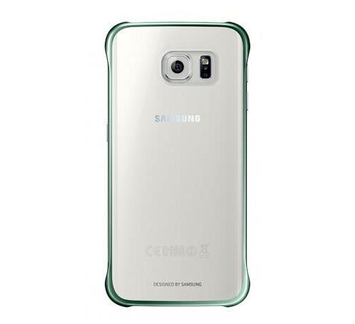 Samsung Etui Clear Cover pour Galaxy S edge Vert a w
