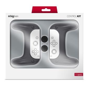 Ensemble BigBen de 2 Grips pour Joystick et 2 Poignées pour Joy-Con Nirtendo Switch