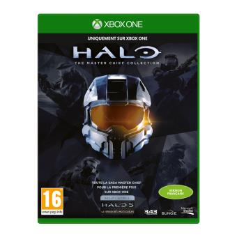 halo master chief collection xbox one sur xbox one jeux vid o top prix. Black Bedroom Furniture Sets. Home Design Ideas