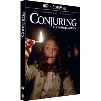 Conjuring : Les dossiers Warren DVD