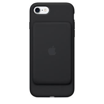 smart battery case apple pour iphone 7 noir etui pour t l phone mobile achat au meilleur. Black Bedroom Furniture Sets. Home Design Ideas