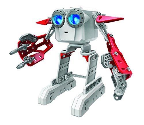 Un incroyable mini robot interactif à construire avec de nombreuses fonctionnalités ! Il danse, rigole et chante lorsqu´il y a de la musique. Apprentissage intelligent des mouvements. 3 modèles à collectionner avec des comportements différents ! Plus de 1