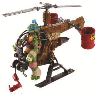 hlicopter dropcopter pour figurine tortues ninja giochi preziosi 12 cm
