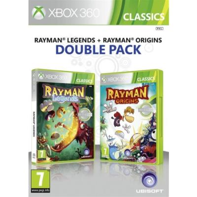 Compilation Rayman Legends et Origins Xbox 360 - Xbox 360