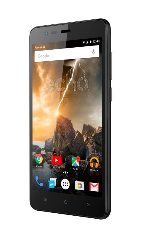 Smartphone Echo Volt 8 Go Noir