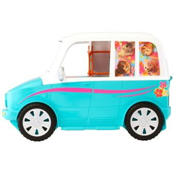 voiture 4x4 transformable de chiots barbie accessoire poup e achat prix fnac. Black Bedroom Furniture Sets. Home Design Ideas
