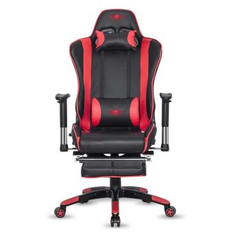 fauteuil gaming spirit of gamer hornet series rouge et noir accessoire console de jeux achat. Black Bedroom Furniture Sets. Home Design Ideas