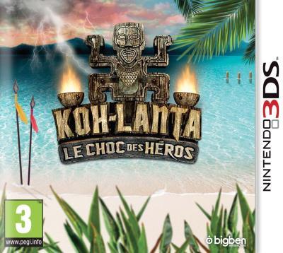 Koh-Lanta Le Choc des Héros Nintendo 3DS - Nintendo 3DS