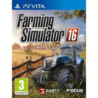 farming simulator 16 ps vita sur ps vita jeux vid o achat prix fnac. Black Bedroom Furniture Sets. Home Design Ideas