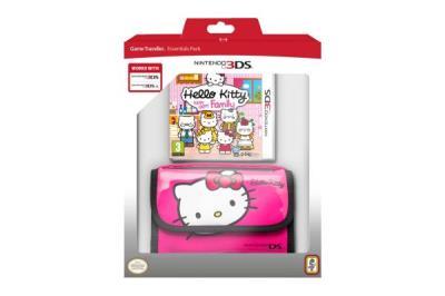 Hello Kitty : Happy Happy Family Nintendo 3DS + sacoche de transport - Nintendo 3DS