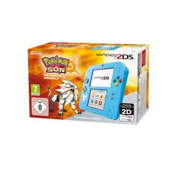 Console Nintendo 2DS + Pokémon Soleil Préinstallé
