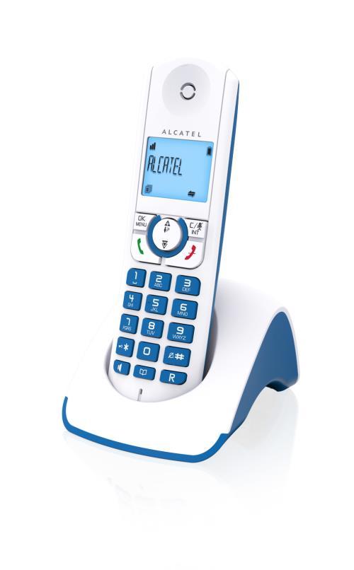 Alcatel F330-S PureSound Solo Bleu