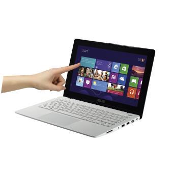 ultra portable asus x200ma ct251h 11 6 tactile blanc ordinateur ultra portable achat. Black Bedroom Furniture Sets. Home Design Ideas