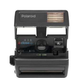 appareil photo instantan polaroid impossible project 600 80 s style noir appareil photo. Black Bedroom Furniture Sets. Home Design Ideas