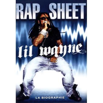Rap sheet dvd zone 2 lil wayne achat prix fnac for Achat maison rap