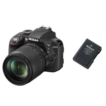 Reflex Nikon D Objectif AF S DX  mm VR batterie EN EL a w