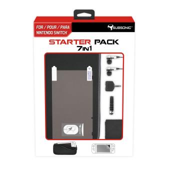 Starter Pack 7 en 1 Subsonic pour Nintendo Switch