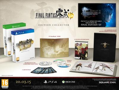 Final Fantasy Type 0 HD Collector PS4 - PlayStation 4