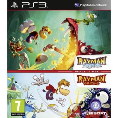 Compilation Rayman Legends et Origins PS3 - PlayStation 3