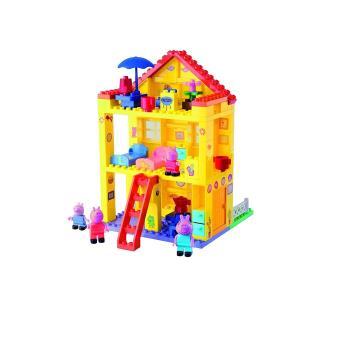 Jeu de construction la villa de peppa pig playbig bloxx 107 pi ces autres j - Jeux de construction de villa ...