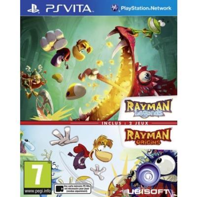 Compilation Rayman Legends et Origins PS Vita - PS Vita