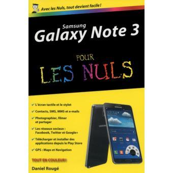 a Pour Les Nuls Samsung Galaxy Note  pour les nuls Daniel Rouge