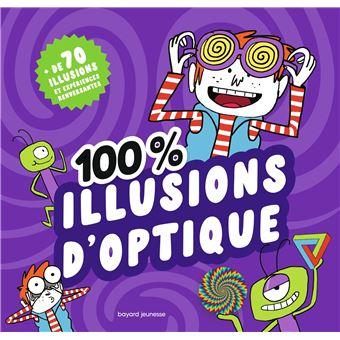 100 illusions d 39 optique reli camille aulas - Coloriage illusion d optique ...