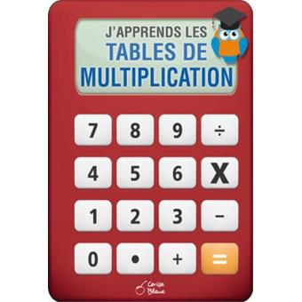 J 39 apprends les tables de multiplication cartonn for Voir les tables de multiplication