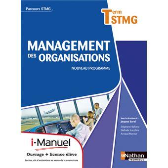 Manag org term stmg (parc stmg