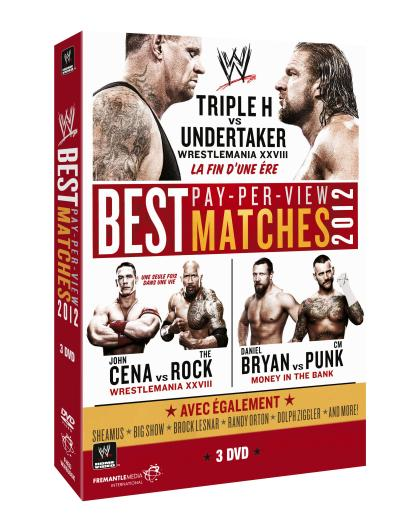Best Pay-Per-View Matches 2012 Coffret 3 DVD
