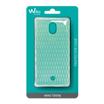 Coque wiko wicube pour tommy transparent accessoire pda for Housse wiko tommy 2