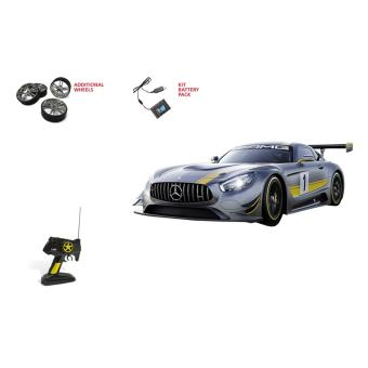 voiture radiocommand e mercedes amg gt3 mondo motors 1 10 voiture radio command achat. Black Bedroom Furniture Sets. Home Design Ideas