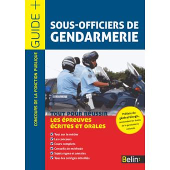 Concours gendarmerie age