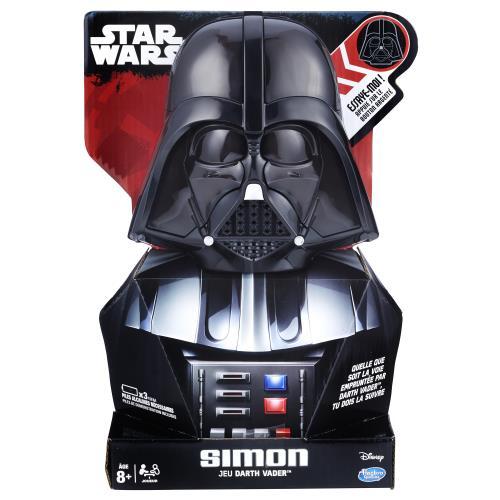 Défie Simon et reproduis les séquences qu´il te propose en suivant les instructions de Dark Vardor ! Le jeu culte Simon en forme du légendaire personnage de Star Wars ! Défie Simon et reproduis les séquences qu´il te propose en suivant les instructions de