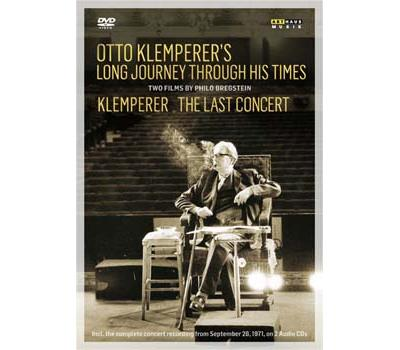 Otto Klemperer´s Long Journey Through His Times, Klemperer The Last Concert Inclus 2 CD et un livre DVD