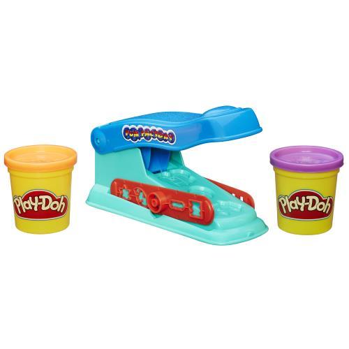 L´outil de base pour extruder la pâte Play-Doh ! Avec un cadran multi-formes et 2 pots de pâte.