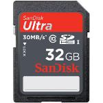 SanDisk Ultra - carte mémoire flash - 32 Go - SDHC UHS-I