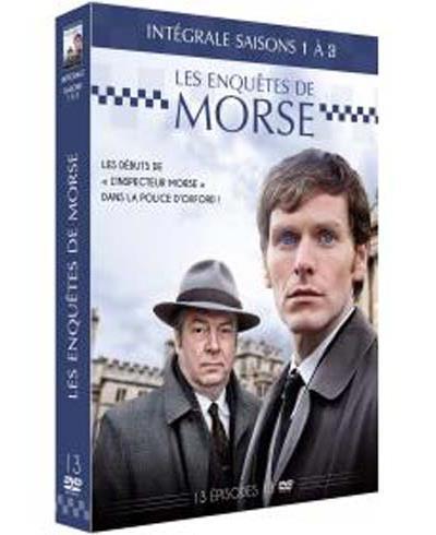 Les Enquêtes de Morse Saisons 1 à 3 Coffret DVD