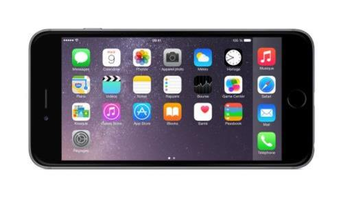 apple iphone 6 plus 16 go gris sid ral reconditionn smartphonespaschers. Black Bedroom Furniture Sets. Home Design Ideas