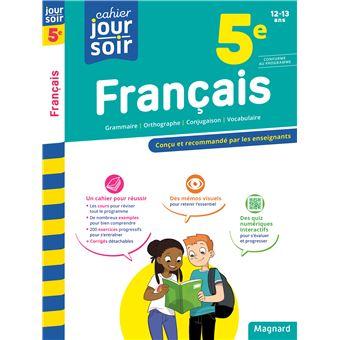 Cahier du Jour Cahier du Soir Français 5ème Cahier d ...