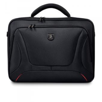 """Sacoche Port Designs Courchevel Clamshell pour PC Portable 15.6"""" Noir"""