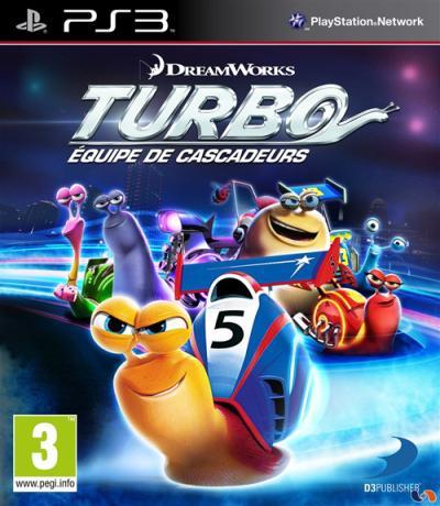 Turbo Equipe de Cascadeurs PS3 - PlayStation 3