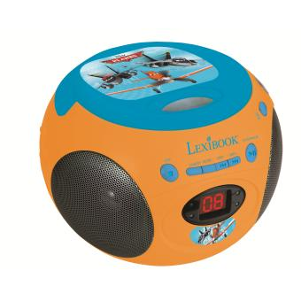 boombox radio lecteur cd disney planes lexibook jouet. Black Bedroom Furniture Sets. Home Design Ideas