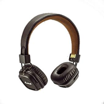 casque audio marshall major ii bluetooth marron casque audio achat prix fnac. Black Bedroom Furniture Sets. Home Design Ideas