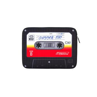 housse pour ordinateur portable 13 pouces woouf mod le cassette. Black Bedroom Furniture Sets. Home Design Ideas