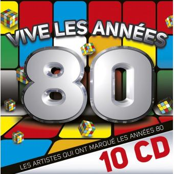 vive les ann es 80 compilation cd album achat prix fnac. Black Bedroom Furniture Sets. Home Design Ideas