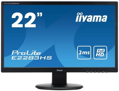 Moniteur LED 22 Full HD , résolution : 1920x1080 points Ratio de contraste dynamique > à 5.000.000:1