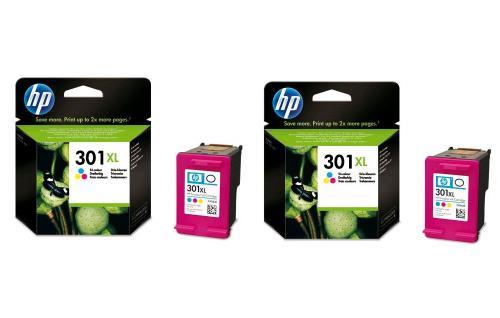 Cartouche Hp301 Xl Pour Imprimante Hp Deskjet 1050 2050 Car589
